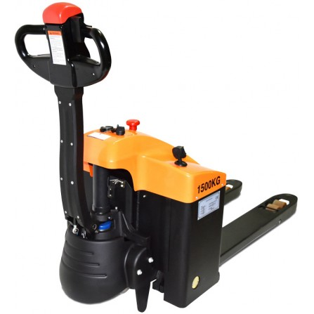 Record SQR15L Compact Fully Powered Pallet Truck